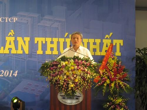 Thứ trưởng Bùi Phạm Khánh, Trưởng ban chỉ đạo CPH Bộ Xây dựng phát biểu chỉ đạo tại Đại hội.