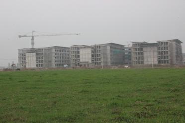 Đến thời điểm này, Gói thầu 07/ĐHTL thuộc Dự án Xây dựng cơ sở mới Trường Đại học Thủy Lợi đã hoàn thành nhiều hạng mục quan trọng.