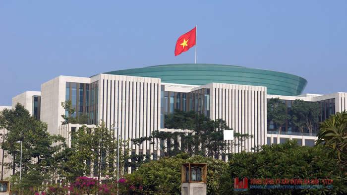 Nhà Quốc hội và Hội trường Ba Đình (mới) là một trong những công trình trọng điểm mà Hancorp được giao thi công, xây lắp