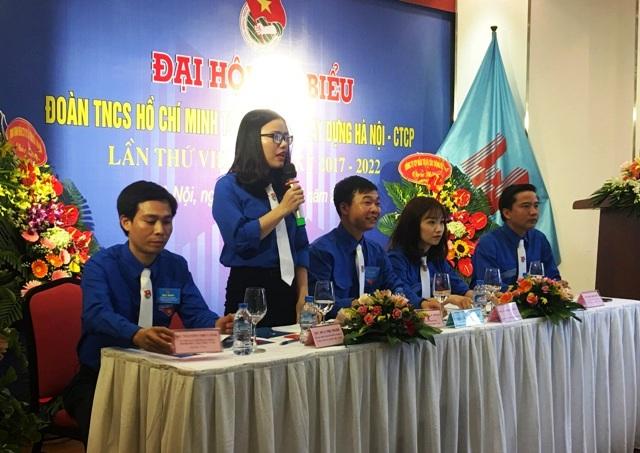 19 đồng chí được bầu vào Ban Chấp hành Đoàn Tổng Cty Xây dựng Hà Nội