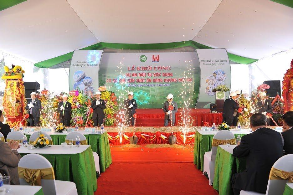 Ông Đậu Văn Diện - Tổng giám đốc Tổng công ty Xây dựng Hà Nộiphát biểu tại Lễ khởi công (1)