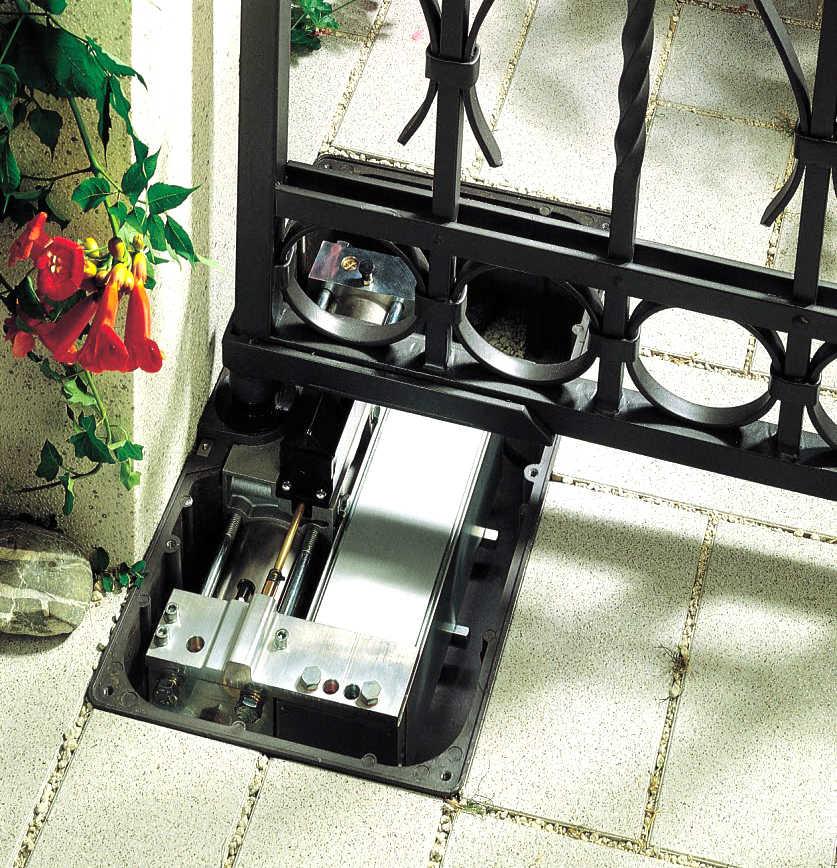 Cổng tự động âm sàn RobotHome