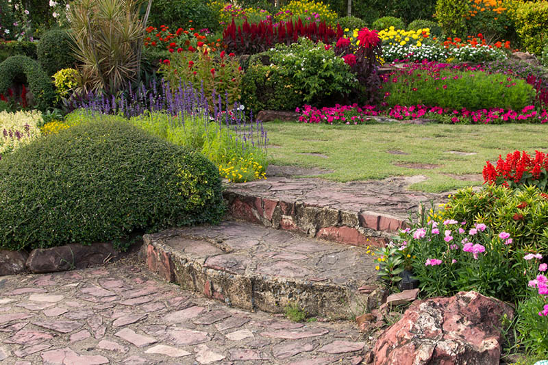 Sân vườn kiểu thôn quê