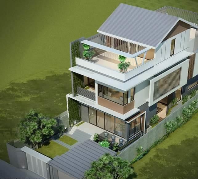 xây nhà trên đất 300m2