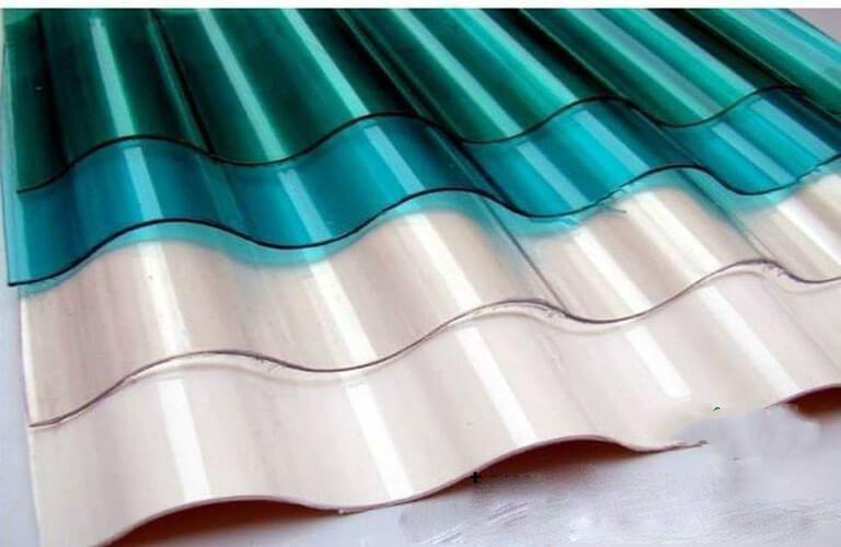 tấm polycarbonate hình dạng sóng