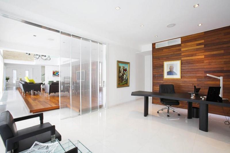Nhà ở kết hợp văn phòng cho thuê tận dụng tối đa không gian